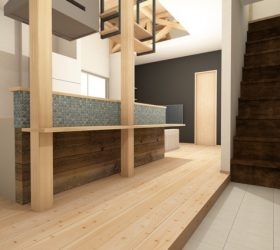戸建て リノベ 築40年 大阪 自然素材