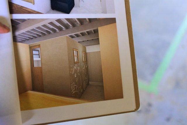 3Dパースで空間をイメージ