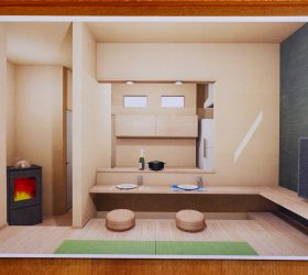 CGパースでシミュレーション 自然素材の家