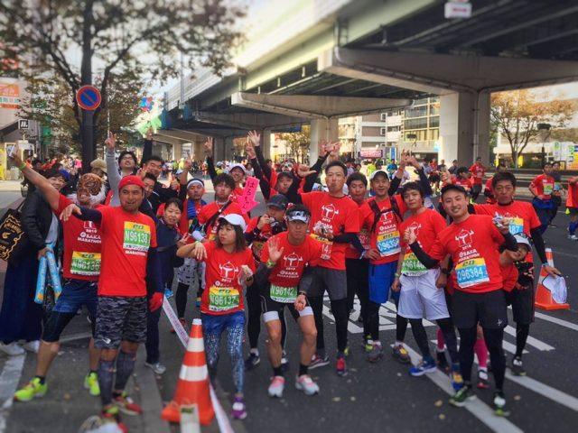 大阪マラソン完走しました♪