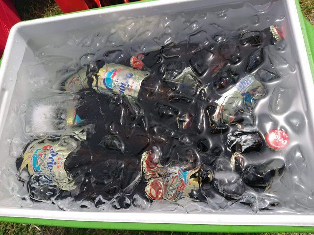 ゆいまーるClubのBBQに沖縄のオリオンビール