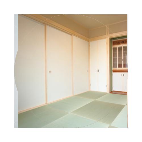 ドア建具交換 - 襖
