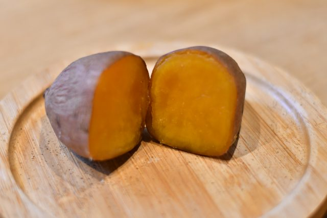 ペレットストーブ 焼き芋