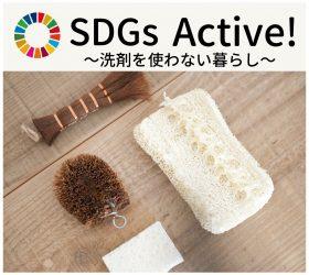 SDGs洗剤を使わない暮らし